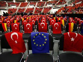 Ankara drängt immer noch auf Einlass in die Europäische Union.