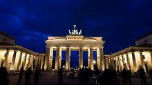 Weltberühmtes Wahrzeichen: Das Brandenburger Tor in Berlin