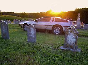 Lediglich 8600 DeLorean wurden gebaut, bevor die Firma in die Pleite ging.