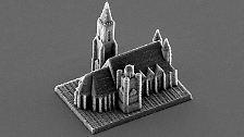 Eben mal gedruckt: Skulpturen, so klein wie ein Sandkorn