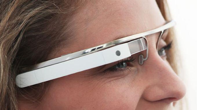 Designstudie von Google: So könnte die Brille aussehen.