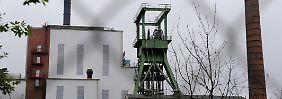 In dem Bergwerk Sigmundshall in Wunstorf arbeiten 850 Beschäftigte.
