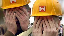 Verfrühte Freudentränen: Zehn Jahre Holzmann-Rettung