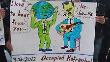 Aufstand in Bildern: Syrien malt gegen seinen Diktator
