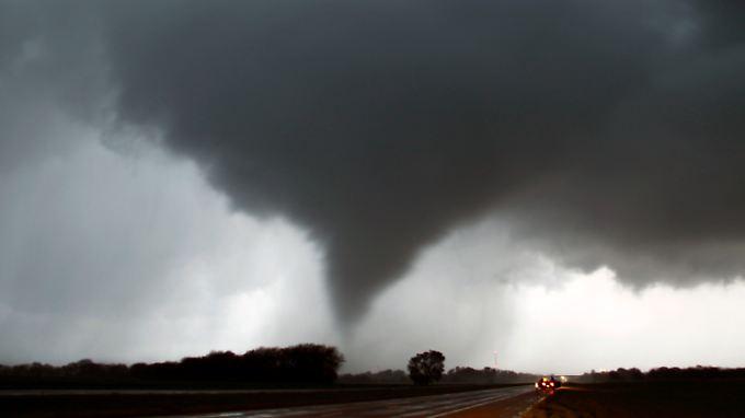 Fünf Tote in den USA: Tornados kommen Schlag auf Schlag