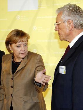 Kanzlerinnen-Berater Hauff drängt auf Nachhaltigkeit.