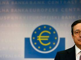 Muss sich um die Sorgen in den eigenen Reihen kümmern: Mario Draghi.