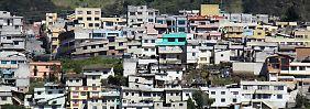 Eine Stadt in Schönheitskur: Quito putzt sich heraus, doch noch immer gibt es viele Armenviertel