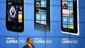 Es gibt nur eine Richtung: Nokias Abstieg ist rasant