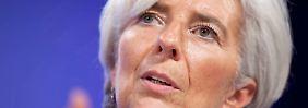 Begrenzt Mitleid für Griechen: Christine Lagarde.