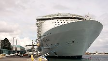 """Oasis of the Seas"": Kreuzfahrtschiff der Superlative"