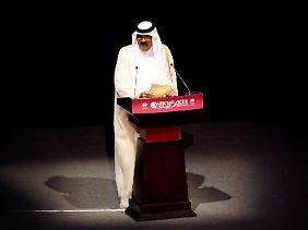 Der Emir von Katar: Scheich Hamad bin Khalifa al-Thani wünscht sich eine aktive, vorsichtige und konservative Geldanlage.