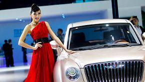 Extravagante Autos in Peking: Europäer umgarnen chinesische Kunden