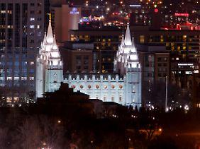 Der Salt-Lake-Tempel ist der bekannteste und größte Tempel der Mormonen.