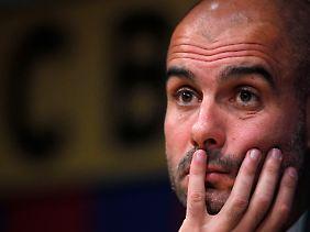 Von einem FCB zum anderen? Angeblich ist Josep Guardiola durchaus angetan vom FC Bayern.
