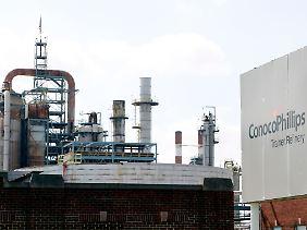 Die neue Delta-Raffinerie in Trainer, Pennsylvania.