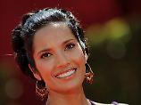 Mit und ohne Kleider schön: Padma Lakshmi.