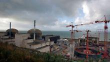 In der Normandie errichtet Areva für Electricite de France (EdF) ein Kernkraftwerk neuester Bauart.