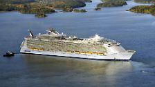 """""""Oasis of the Seas"""": Kreuzfahrtschiff der Superlative"""