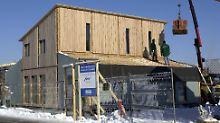Den Bau von Passivhäusern fördert die KfW mit günstigen Zinssätzen ab 2,47 Prozent.