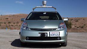 Autonomie im Straßenverkehr: Google-Auto fährt ganz von selbst