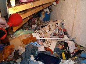 Ähnlich dürfte auch die Wohnung der Rentnerin in Hagen ausgesehen haben.