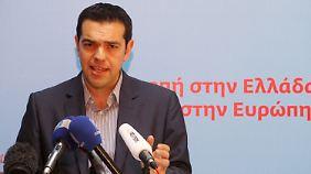 Antonis Tsipras, der Syriza-Chef, ist strikt gegen die Sparauflagen der EU, denen sich die anderen Parteien verschrieben haben.