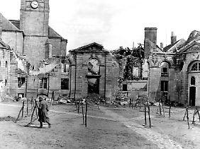 Bei der Schlacht um Verdun (Februar bis Dezember 1916) kamen rund 700.000 Menschen ums Leben.