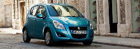 Mit dem Splash will Suzuki seinen Kunden einen frechen Großstadtflitzer anbieten.
