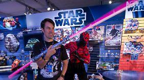 """Das """"Star Wars""""-Universum setzt sich im Kinderzimmer fort."""