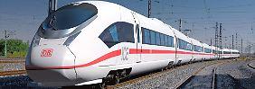 Wegen verspäteter Lieferung von ICE-Zügen verlangt die Deutsche Bahn laut einem Medienbericht Schadensersatz in Millionenhöhe von Siemens.