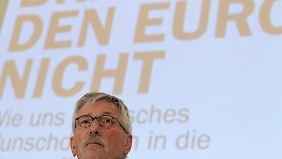 Sarrazins provokante Thesen: Abrechnung mit dem Euro
