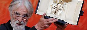 Haneke kann wieder einmal die Goldene Palme in seinen Händen halten.
