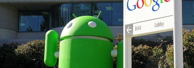 android hängt