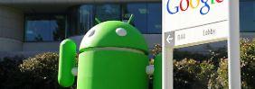 Google-Handys auf dem Vormarsch: Android hängt iOS locker ab