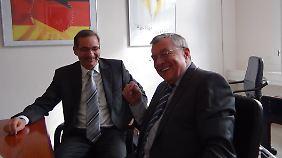 Matthias Platzeck im Interview mit Manfred Bleskin.