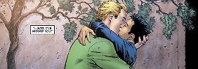 Green Lantern bezieht seine Superkräfte aus einem magischen Ring.