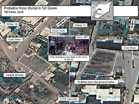Die Bilder eines privaten Satelliten wurden einer Behörde des US-Außenministeriums veröffentlicht.
