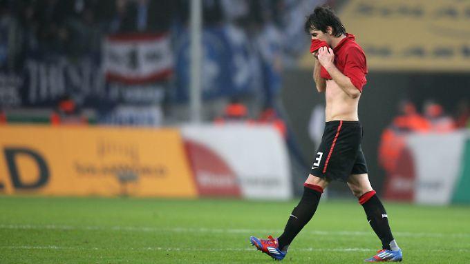 Fußballer als Faustschläger: Lewan Kobiaschwili wird deshalb im Jahr 2012 kein Spiel mehr bestreiten.