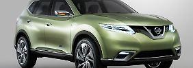 Der Nissan Hi Cross gibt einen Ausblick auf die neuen Offroad-Modelle der Japaner.