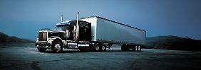 Eines der Lastentiere der US-Wirtschaft: Ein Navistar-Truck aus der 9900er-Serie.