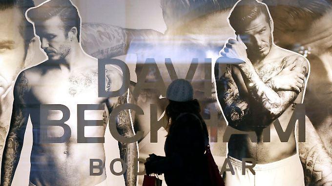 David Beckham verkauft seine Unterwäsche-Kollektion bei H&M.