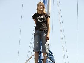 Laura Dekker will die jüngste Solo-Weltumseglerin werden.