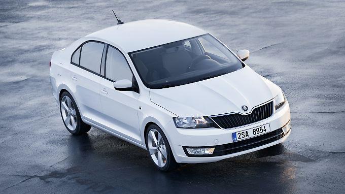 Der Skoda Rapid soll gegen Hyundai, Chevrolet und Dacia antreten.