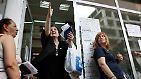 Ein System vor dem Kollaps: Griechen zahlen mit der Gesundheit