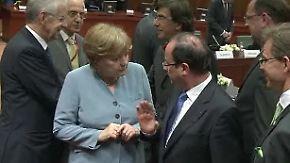 Vierer-Gipfel zur Eurokrise in Rom: Merkels Zeitplan zerbröselt