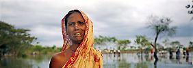 Überschwemmung in Bangladesch (Archivbild).