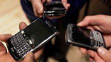 BlackBerry leidet unter wachsendem Konkurrenzdruck.