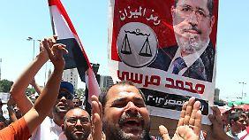 Erstes frei gewähltes Staatsoberhaupt: Ägypten hofft auf Mursi