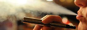 Strenge Regulierung droht: E-Zigarette vor dem Aus?